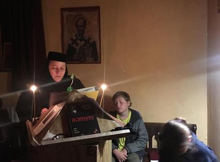 Tabăra cercetașilor MOREOM din zona pariziană, sub ocrotirea Sfântului Gheorghe Pelerinul