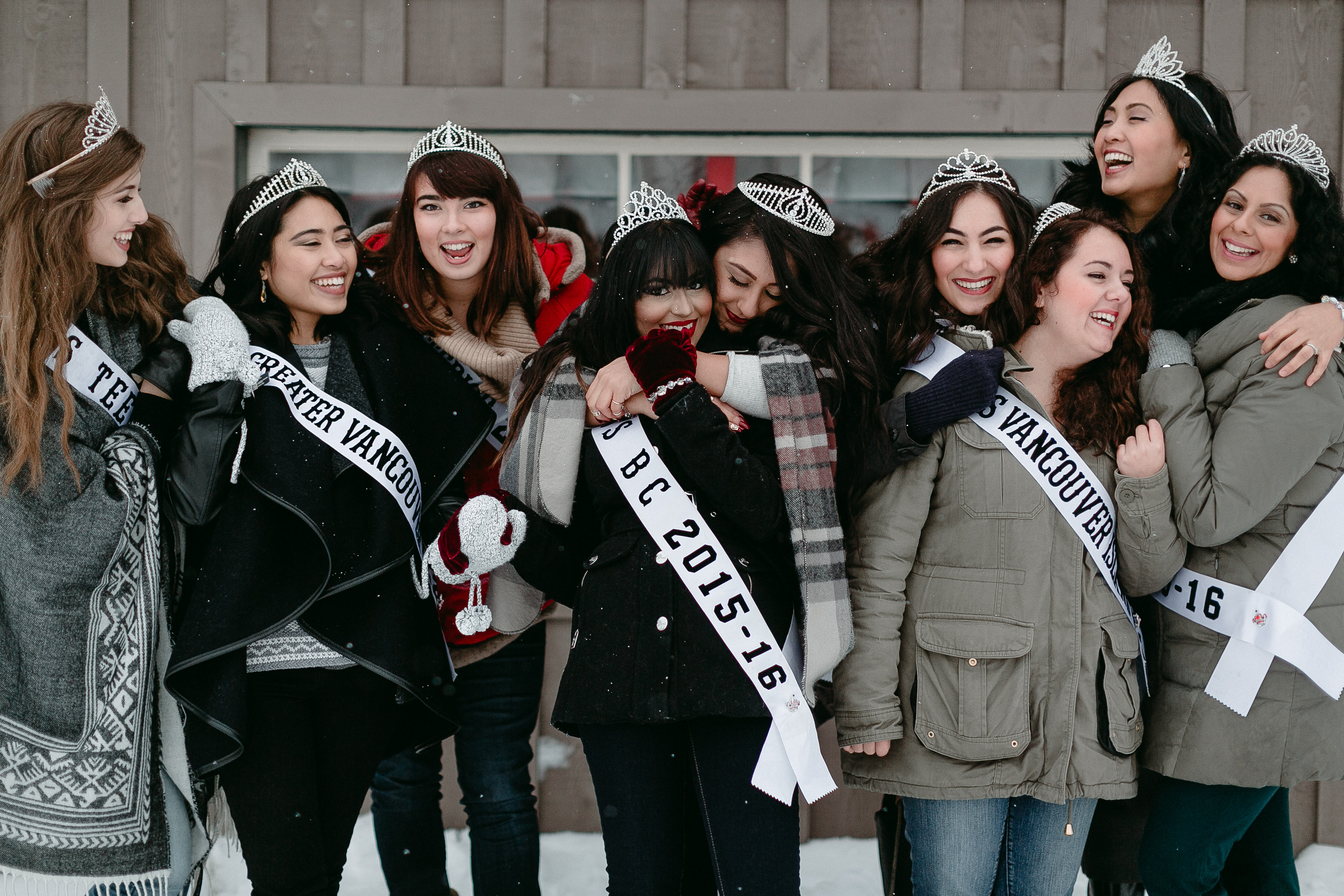 Miss BC All Titleholders 2015 Winter