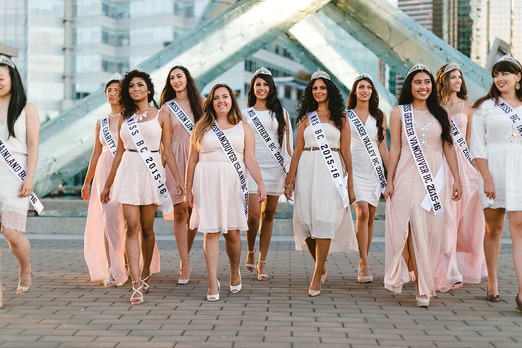 Miss BC All Titleholders 2015 2016