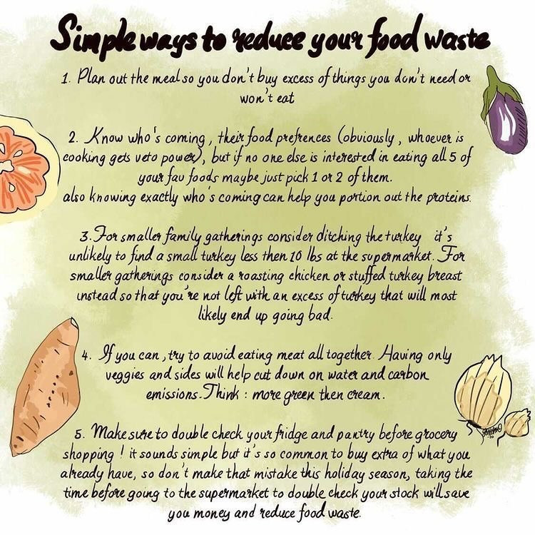 Simple Ways To Reduce Your Food Waste