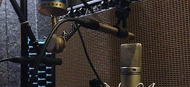 The Wave Lab Recording Studio Williamsburg Brooklyn nyc new york city music sound recording mixing mastering Audio Technica AT4081 Blue encore 100 Vocalbooth