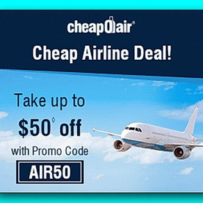 CheapOAir - find the cheapest flights, hotels and vacation packages all in one search!