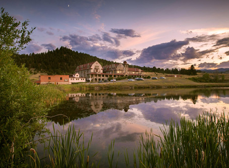 Stay at a Historical and Haunted Hotel near Yellowstone National Park with Natural Hot Springs!