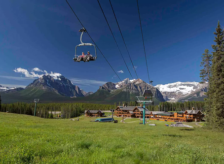 The Lake Louise Gondola Review in Banff National Park, Alberta Canada