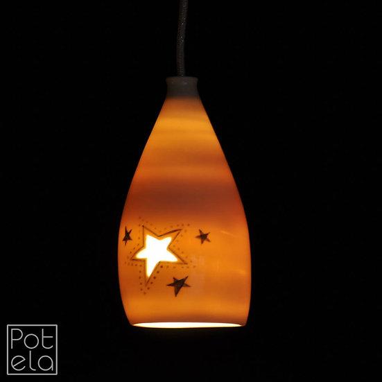 Lampe mit Stern