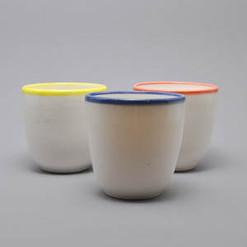 Potela Kaffetasse aus Porzellan