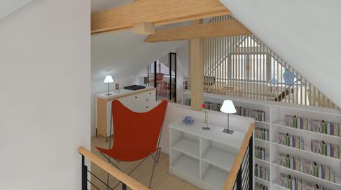 mezzanine et fauteuil butterfly.jpg