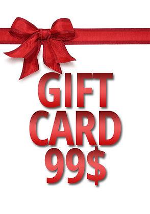 99$ Gift Card