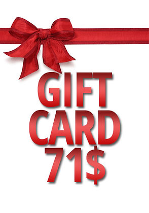 71$ Gift Card