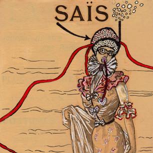 Saïs en de duikers (drieluik)