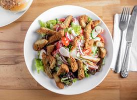Chicken Strips Salad