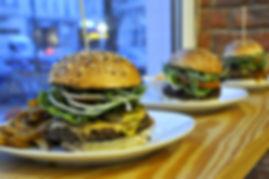 Unsere vegane Burger