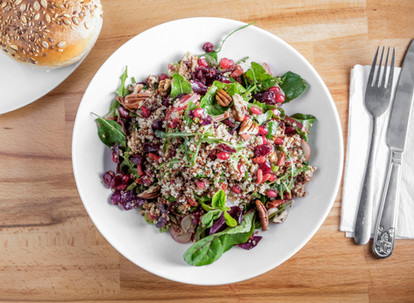 Quinoa, Berries and Nuts