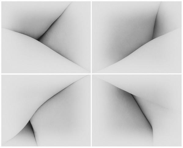 c2, 2020. série: convergências. pigmento vegetal sobre papel algodão. políptico 20 x 25 cm cada