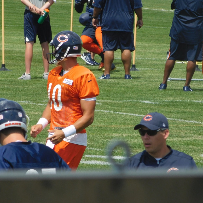 Rookie QB for the Chicago Bears