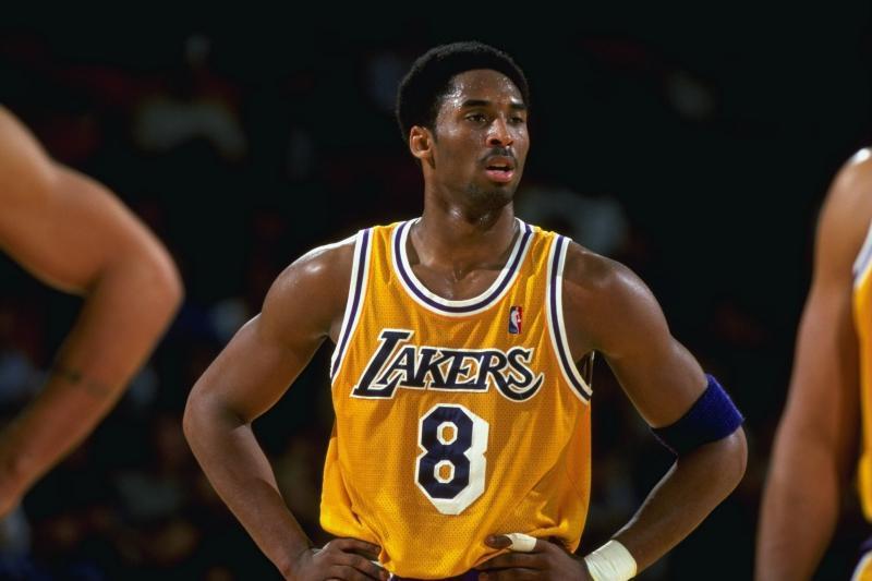 Kobe rocking #8