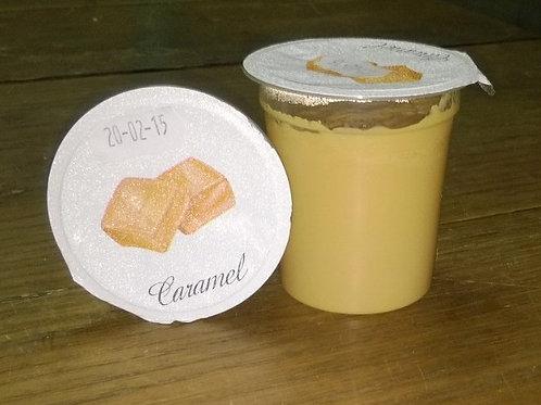 Crème caramel  (4 pots )