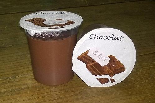 Creme chocolat (4 pots )