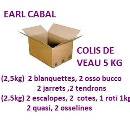 COLIS DE VEAU 5 KG