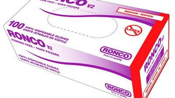 Ronco V2 Vinyl Gloves