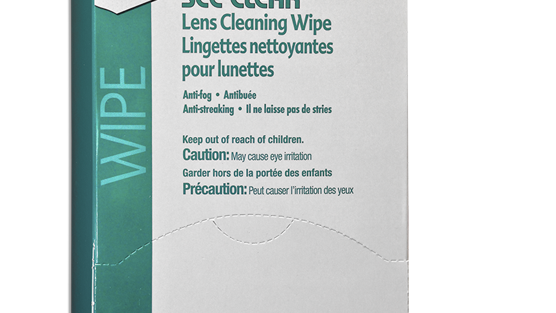 PDI See Clear Lens Cleaning Wipes