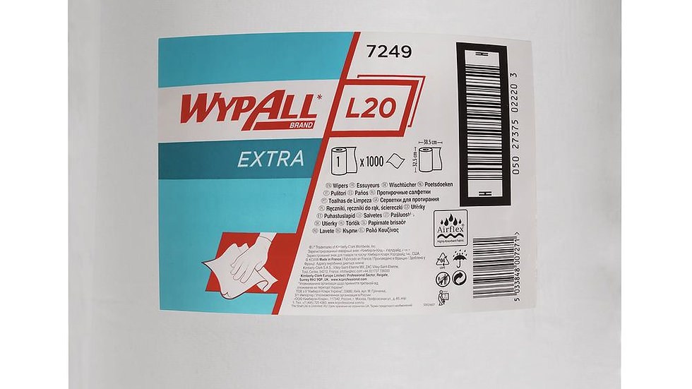 Wypall L20 Towel (3 pack)