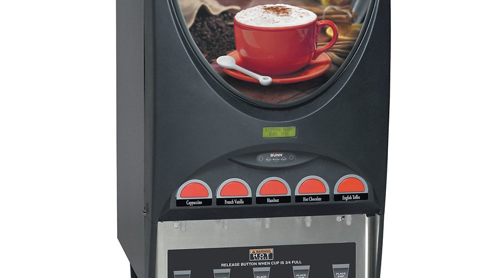 Bunn I-Mix 5 Hot Cappuccino Machine
