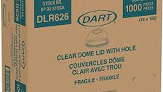 Dart DLR626 Clear Dome Lid