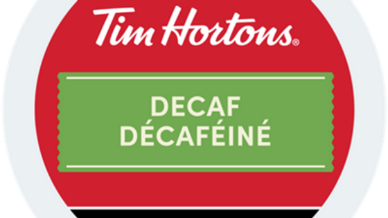 Tim Hortons Decaf K-cups 24/box