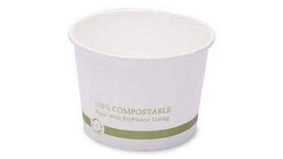 Eco Guardian 16oz PLA Lined Soup Bowls