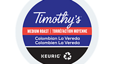 Timothys Colombian La Vareda K-cups 24/box