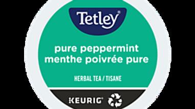 Tetley Pure Peppermint K-cups 24/box