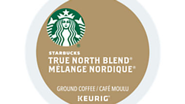 Starbucks True North K-cups 24/box