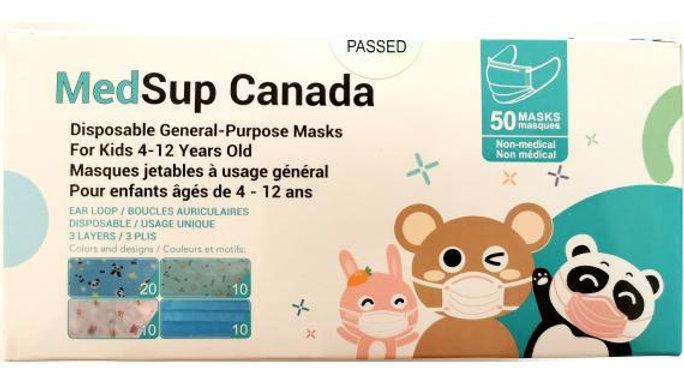 MedSup Canada Childrens Masks