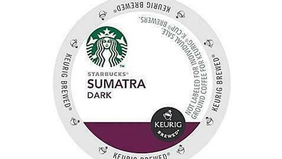 Starbucks Sumatra K-cups 24/box