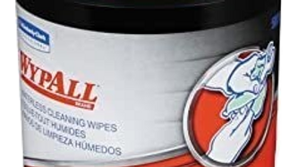Wypall Waterless Cleansing Wipes