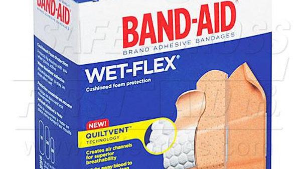 Band-Aid Wet Flex Bandages
