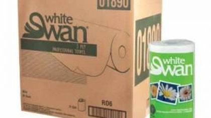 White Swan Kitchen Towel