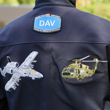 Embroidered Aircraft Jacket