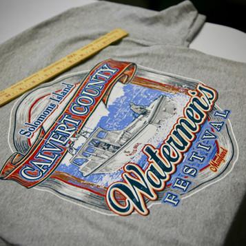 Calvert County Waterman's Festival Shirt