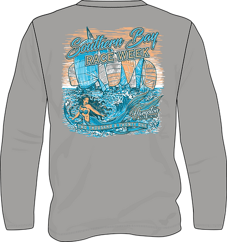 Vintage Heather - Boat Shirt - Long Sleeve Wicking - SBRW 2021