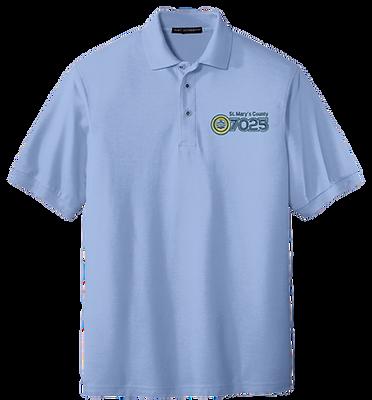 Blue Polo Shirt - NAACP 7025