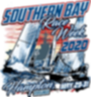 Southern Bay Race Week 2020 Main Design.