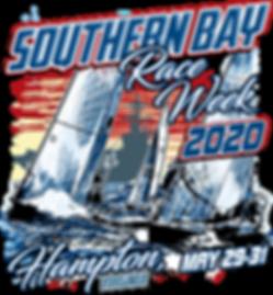 Southern Bay Race Week 2020 Main Design.