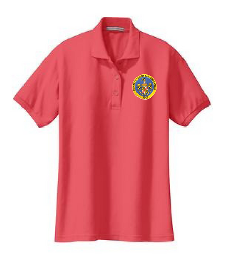 Women's Polo - Silk (Bar Assoc.)