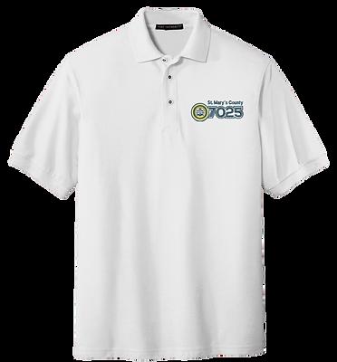 White Polo Shirt - NAACP 7025