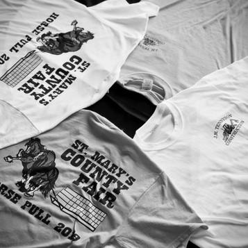 St. Mary's County Fair Horse Pull 2019 Shirts