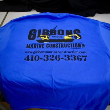Gibbons Marine Construction Shirt