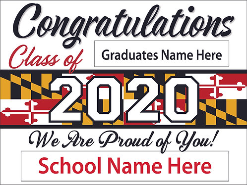 Universal Graduation Yard Signs