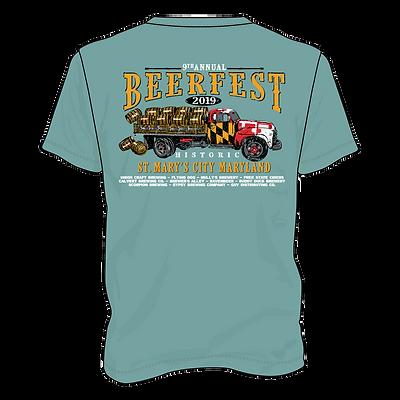 Main T-Shirt - Cypress Green